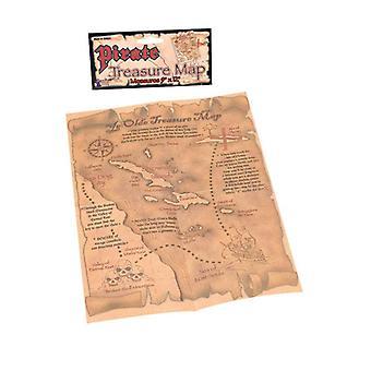 海賊の宝の地図。