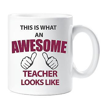 Este es un maestro increíble aspecto de taza