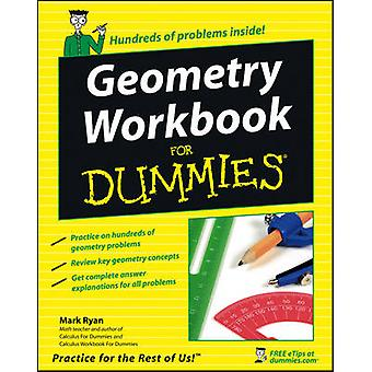 Geometrie-Arbeitsmappe für Dummies von Mark Ryan - 9780471799405 Buch
