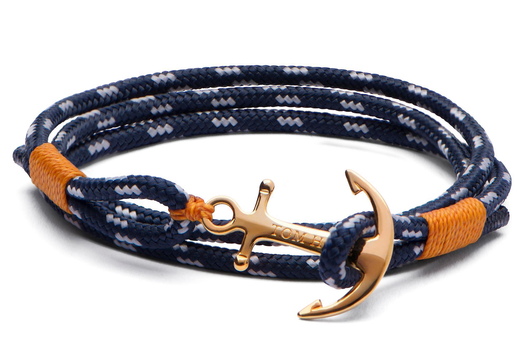 Tom Hope 24K Pure Brass Anchor Large Bracelet TM0113