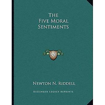 De vijf Moral Sentiments