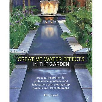 Effets d'eau créative dans le jardin