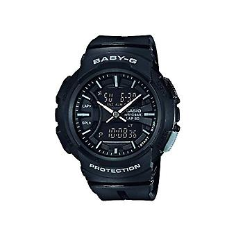 Baby-G Analog quartz men with black resin strap 4549526189180