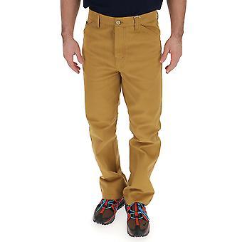 Acne Studios Bk0002adt Men's Brown Cotton Pants