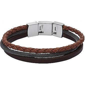 Fossil Vintage Casual JF02213040 bracelet - Bracelet trilogy Bimati re man