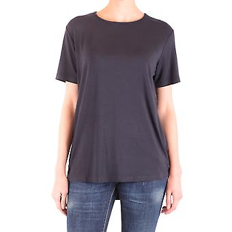 Liviana Conti Ezbc261039 Dames's Blue Cotton T-shirt