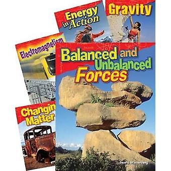 Physical Science Grade 3 - 5-Book Set by Teacher Created Materials - J