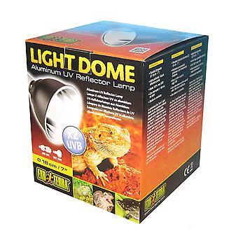 Exo Terra Light Dome UV Aluminium Reflector Lamp 18cm