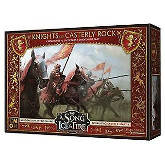 Un cântec de gheață & fire miniatures joc Cavalerii de Casterly Rock bord joc