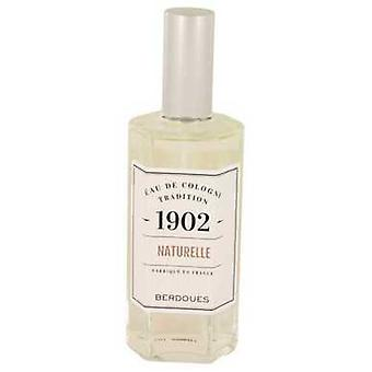 1902 Natural By Berdoues Eau De Cologne Spray (unisex-unboxed) 4.2 Oz (men) V728-537851