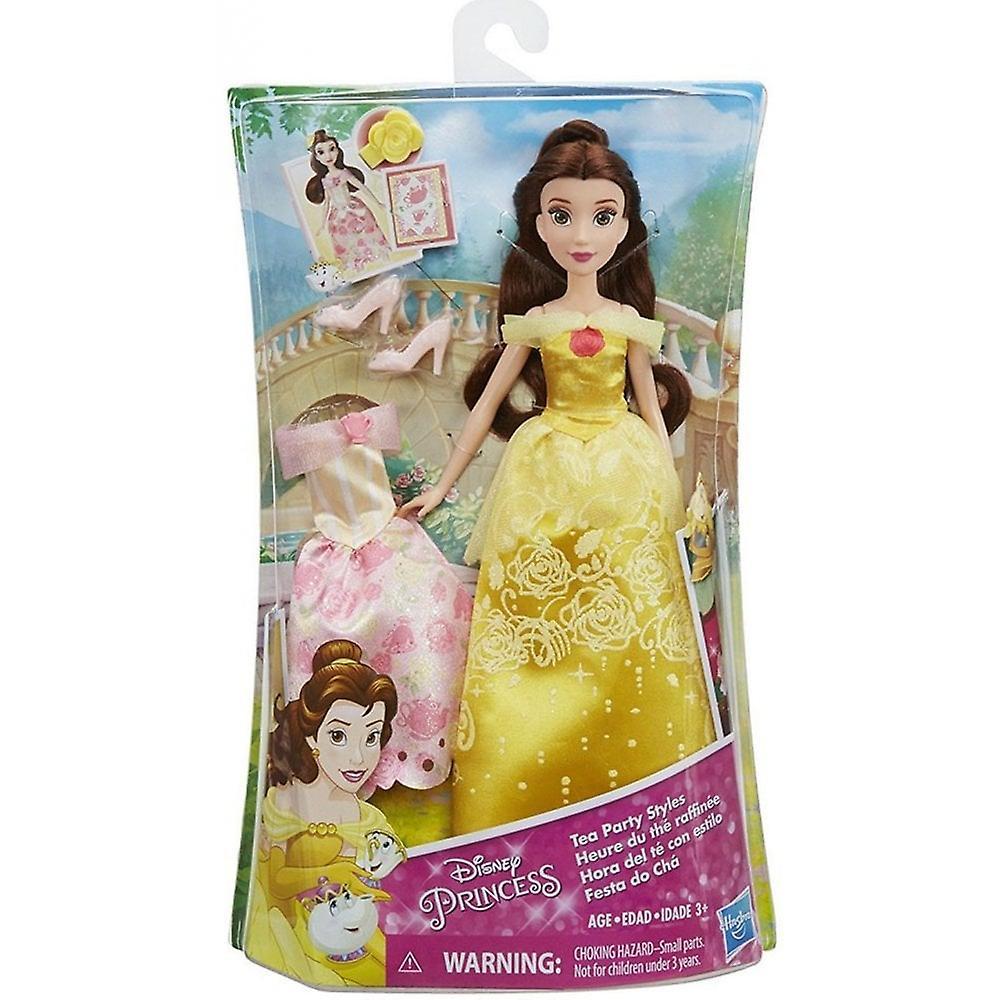 Disney Princess Belle ' s Tea Party Styles mode docka