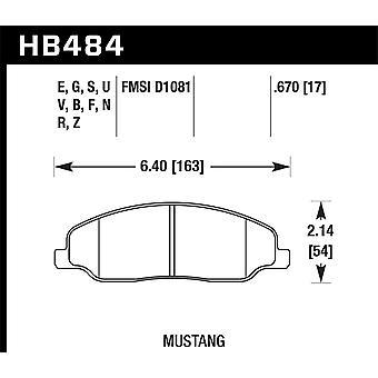 Hawk Performance HB484Z. 670 PC