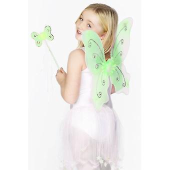 Green Butterfly Wings.