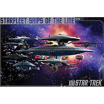 Poster - Star Trek - Ships of the Line Wall Art Licensed Gifts Toys 241320