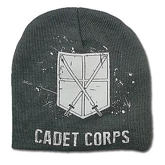Beanie Cap - Attack on Titan - New 104th Cadet Corps Unfold Licensed ge32377