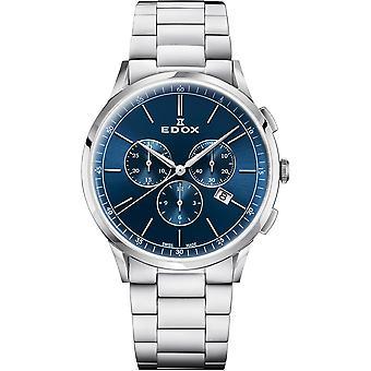 Edox 10236 3M BUIN Les Vauberts Men ' s Watch