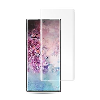 For Samsung Galaxy Note 10 Plus N975F 2x 4D Premium 0.3mm H9 Curved Hard Glass Transparent Foil Protective Case New