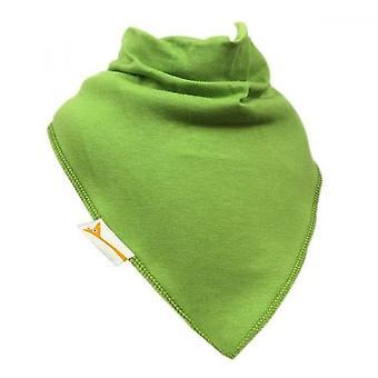 Lime green plain xl bandana bib