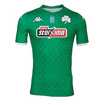 2019-2020 Panathinaikos Kappa Home Shirt