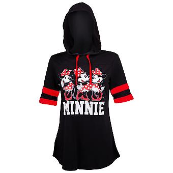 Minnie Mouse Hooded Women's Camiseta de fútbol