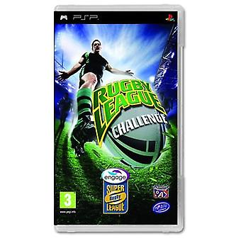 Rugby League Challenge Game PSP-nieuw