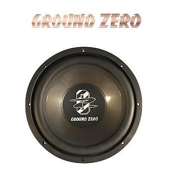 Ground Zero GZIW 300, 12'quot; 30 cm subwoofer , 350 watts max. NOUVEAU