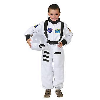 Valkoinen astronautti puku lapsille Carnival Space Shuttle Commander lasten puku Carnival Spaceman