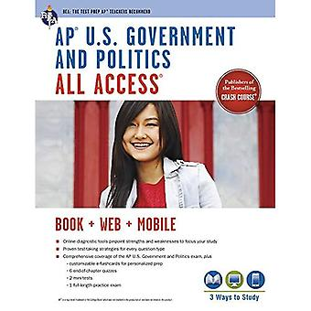AP U.S Government and Politics All Access [With Web Access] (Advanced Placement (AP) All Access)