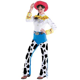 Jessie Deluxe Disney Pixar Toy Story Yodeling vaquera Rodeo Womens traje