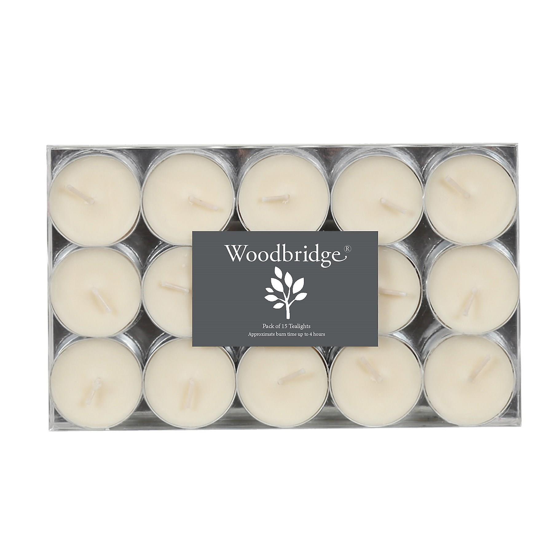 Woodbridge Pack of 15 Tealights - Ivory