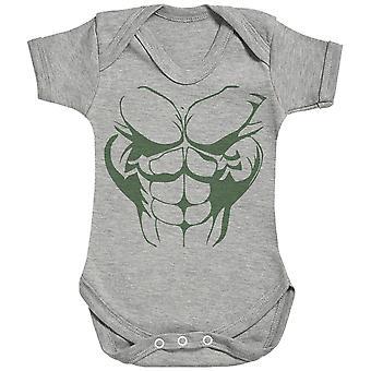 Hulk Body - Baby Bodysuit
