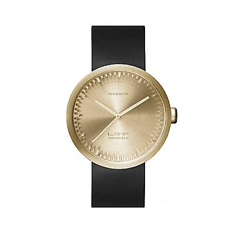 Leff Amsterdam LT72021 D42 Brass Tube Wristwatch