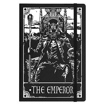 Deadly Tarot The Emperor A5 Hard Cover Notebook