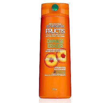 Garnier Fructis Damage Eraser Fortifying Shampoo with Amla Extract, Damaged Hair, 370 mL