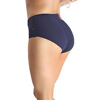 Nessa NO2 Women's Abbi Navy Blue Full Panty Highwaist Brief