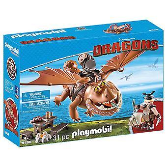 Playmobil Fishlegs and Meatlug Toy
