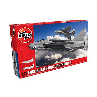 Airfix A05042A Inglese Electric Lightning F6 Classic 1:72 Scala Modello Kit