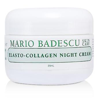 Mario Badescu Elasto-kollagen Night Cream-for tørr/sensitiv hud typer-29ml/1oz