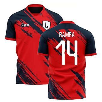 2020-2021 ليل مفهوم المنزل لكرة القدم قميص (BAMBA 14)