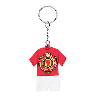 Manchester United FC oficial PVC completo Kit llavero