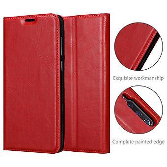 Cadorabo Case voor Xiaomi Mi 9 case case cover - telefoonhoes met magnetische sluiting, standfunctie en kaartvak - Hoes cover beschermhoes Boek Folding Style