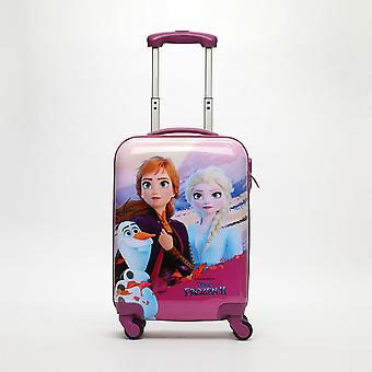 Carro duro de equipaje de mano congelado 2