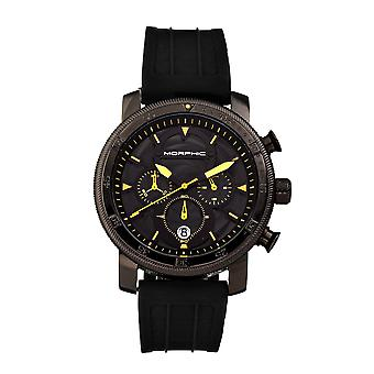 Morphic M90 Series Chronograph Watch w/Date - Noir