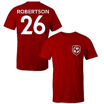 Andy Robertson 26 Liverpool Style Player Kids T-Shirt