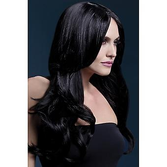 Smiffy's Fever Khloe Wig - Black