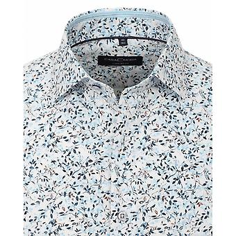 CASA MODA Casa Moda Fashion Leaf Print Shirt