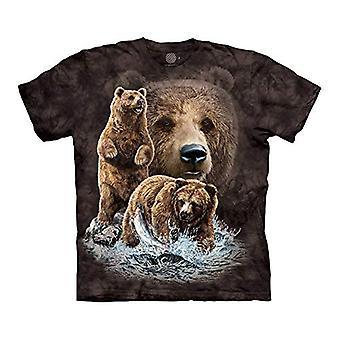 Munte Unisex-Adult&s Find 10 Brown Bears, Negru, 4XL