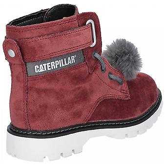 CAT Livsstil Cat Livsstil Konvertering Velvet Ankle Boot Burgandy