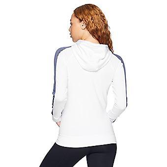 Under Armour Women's Featherweight Fleece Full, White (100)/Black, Size X-Large