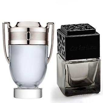 Paco Rabanne Invictus For Him Inspired Fragrance 8ml Smoked Black Bottle Car Air Freshener Vent Clip